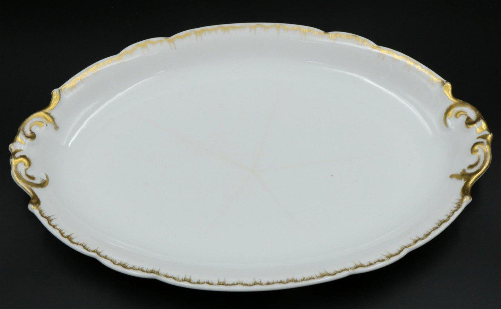 L. Bernardaud & Co. Porcelain Serving Plate
