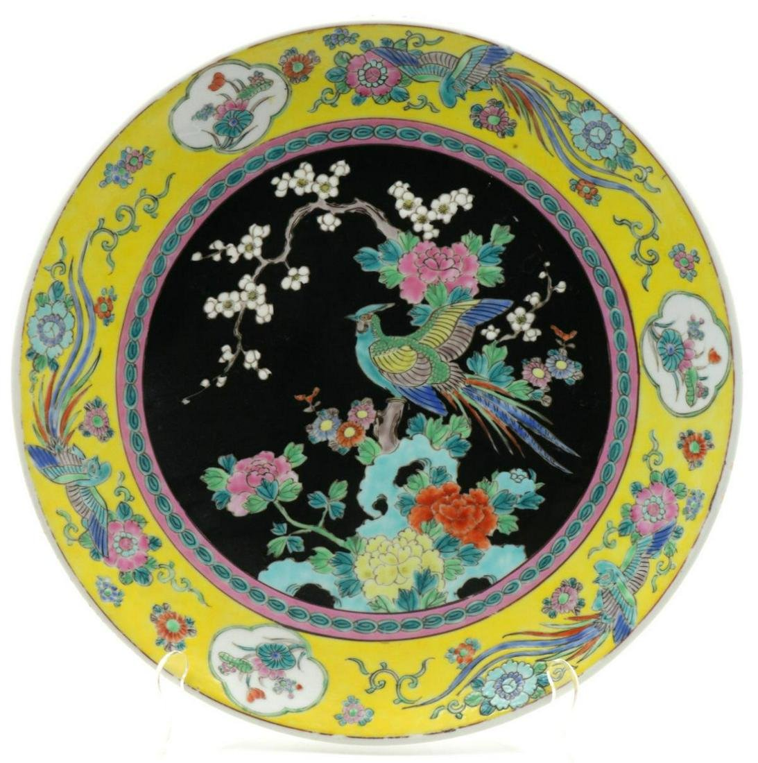 Nippon Hand Painted Porcelain Charger