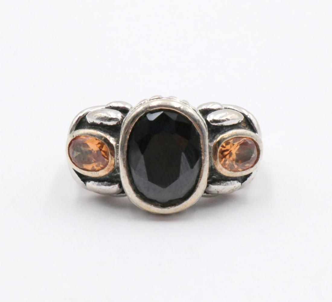 Sterling Silver & Semi Precious Stone Ring