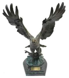 "Sandra Koop ""The Victor"" Bronze Sculpture"