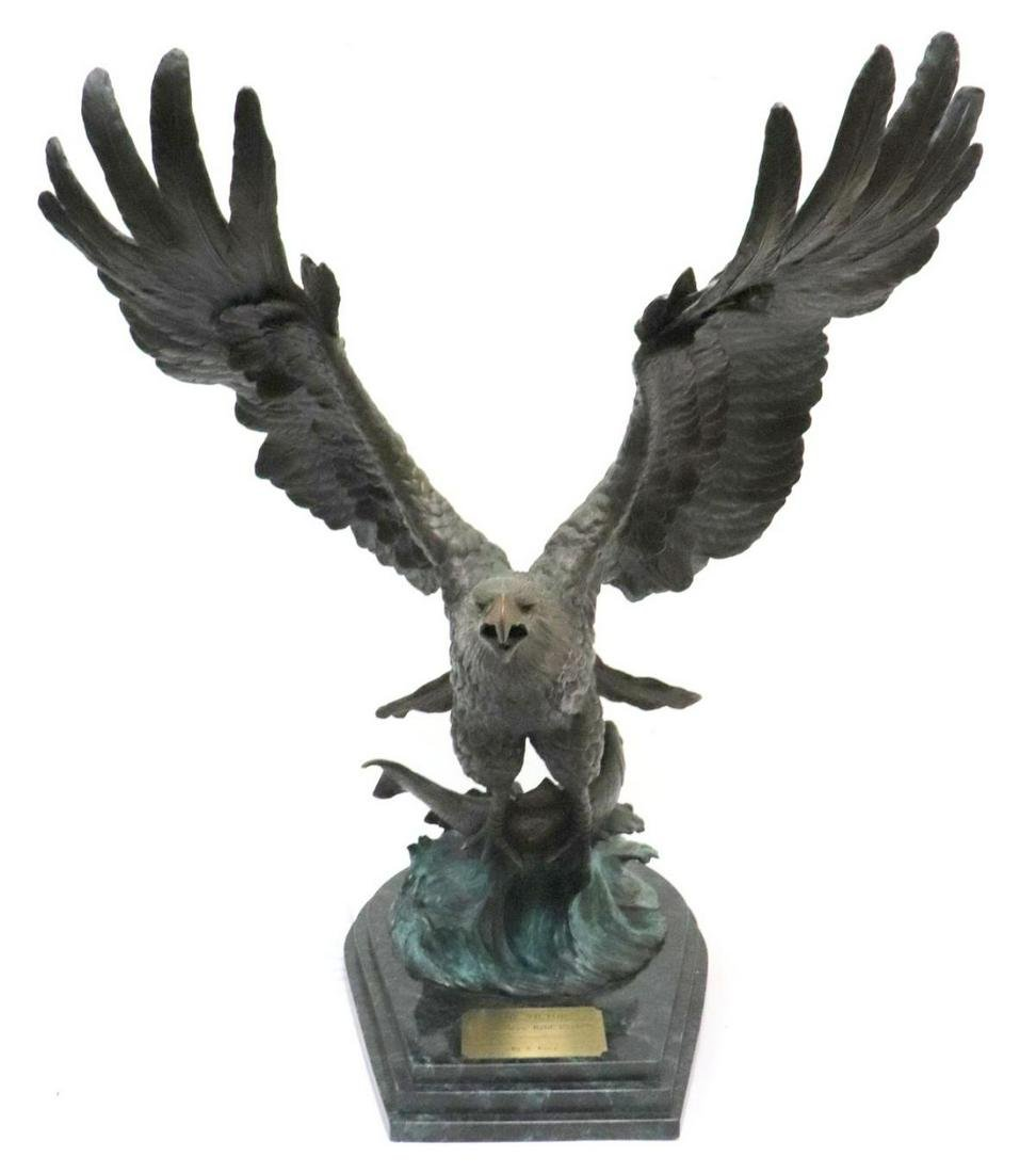 """Sandra Koop """"The Victor"""" Bronze Sculpture"""