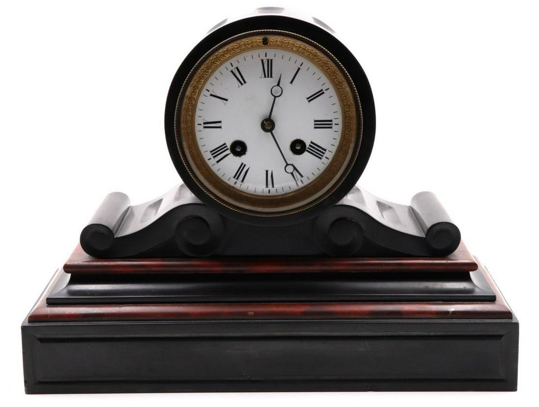 Antique Marble Mantel Clock