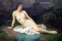 Joseph Tomanek (American 1889-1974) Oil on Canvas
