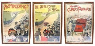 "Original Misti ""Clement-Panhard"" Posters"