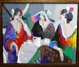 Isaac Maimon (Israel, b. 1951) Oil Painting