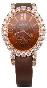 "Chopard ""L'Heure Du Diamant"" Oval Diamond Watch"