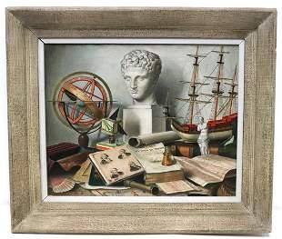Charles Cerny (1892-1965) Still Life Oil Painting