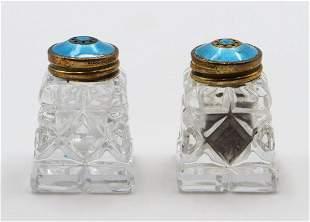 Norway Vermeil & Enamel Shakers