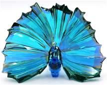 "Swarovski ""Peacock Arya"" Crystal Figure"