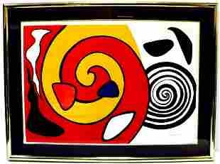 """Alexander Calder """"Escargot"""" Lithograph"""