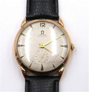 Omega 18Kt Bumper Automatic Watch