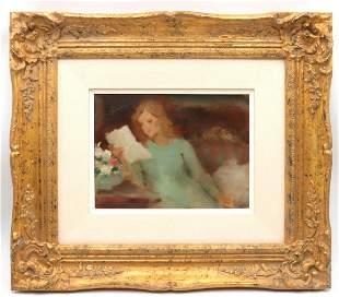 Samuel Oppenheim Oil Painting on Canvas