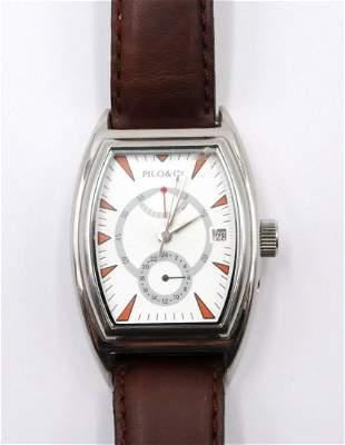 Pilo & Co. Stainless Automatic Watch