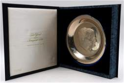 """Franklin Mint """"1973 Presidential Inaugural"""" Sterling"""