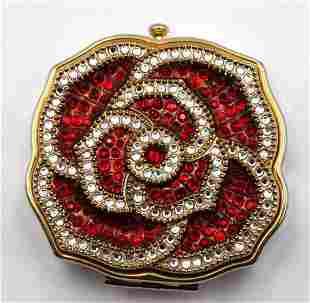 Estee Lauder Swarovski Crystal Compact