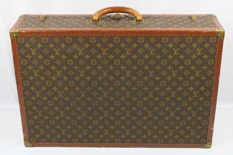 """Vintage Louis Vuitton """"Bisten 70"""" Monogram Trunk"""