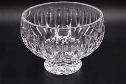 """Waterford """"Marquis"""" Crystal Footed Bowl"""