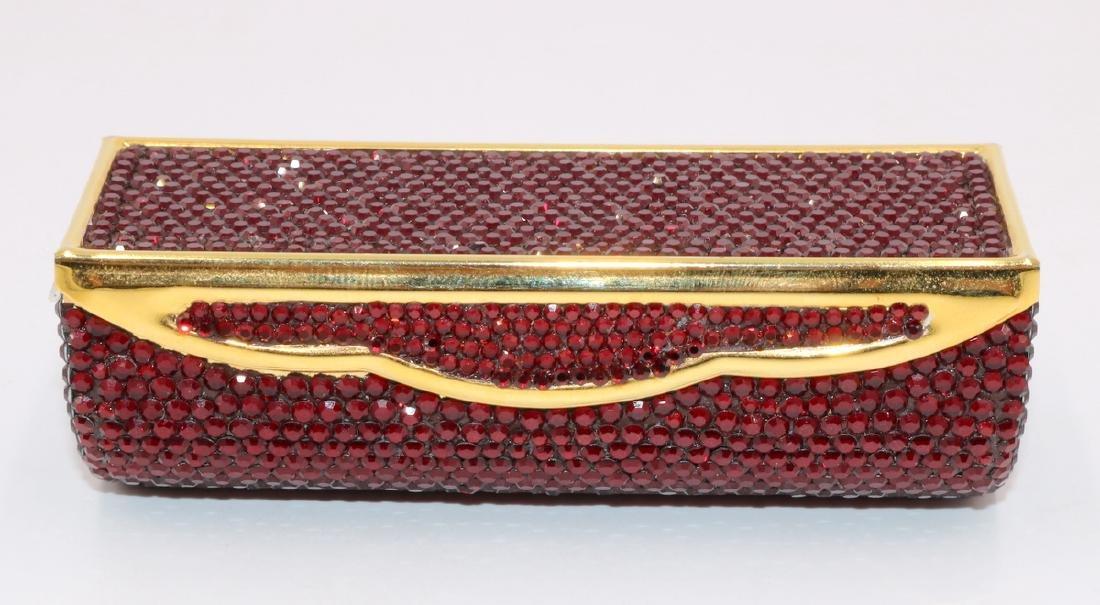 Judith Leiber Swarovski Crystal Lipstick Case