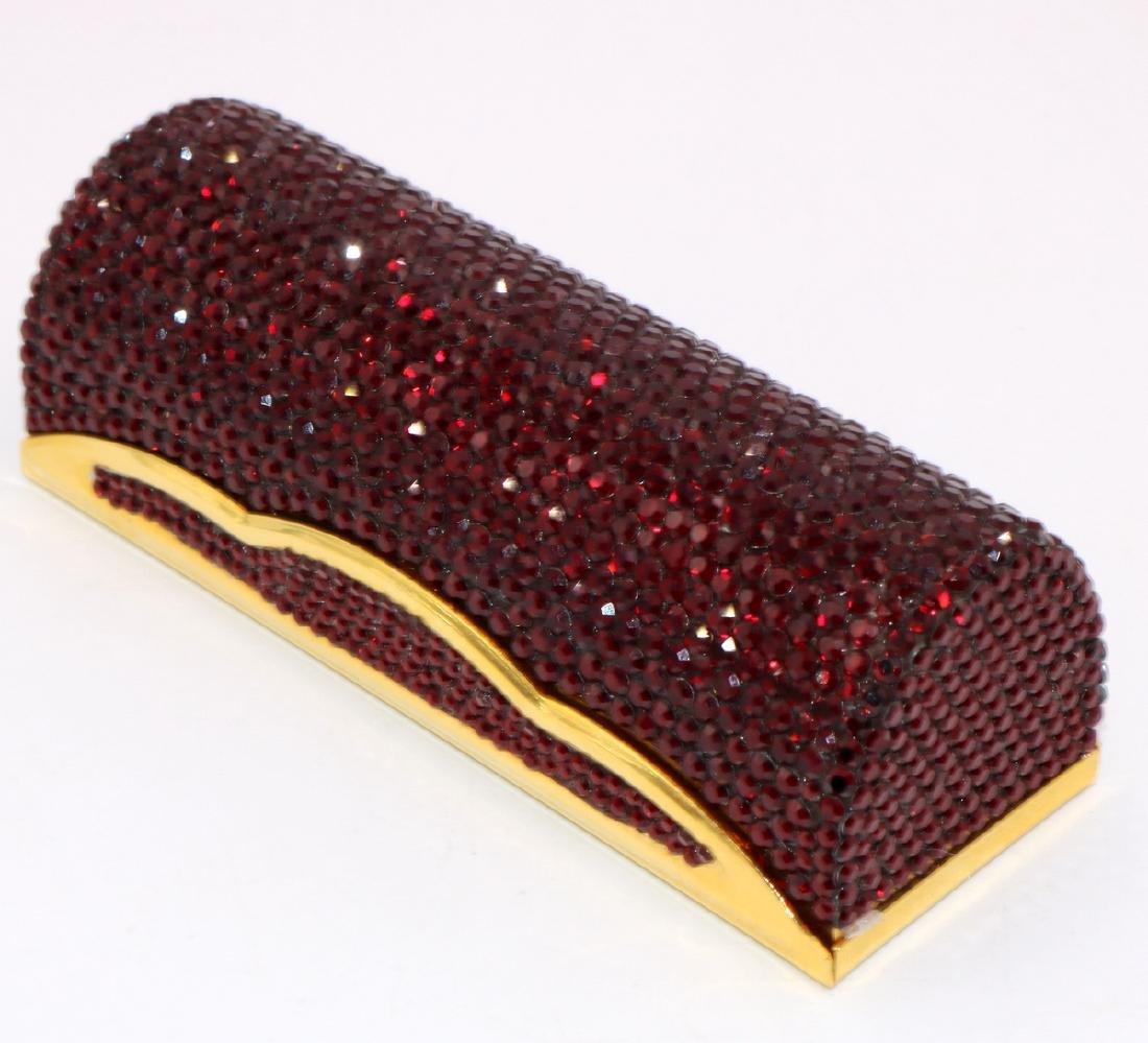 Judith Leiber Swarovski Crystal Lipstick Case - 2