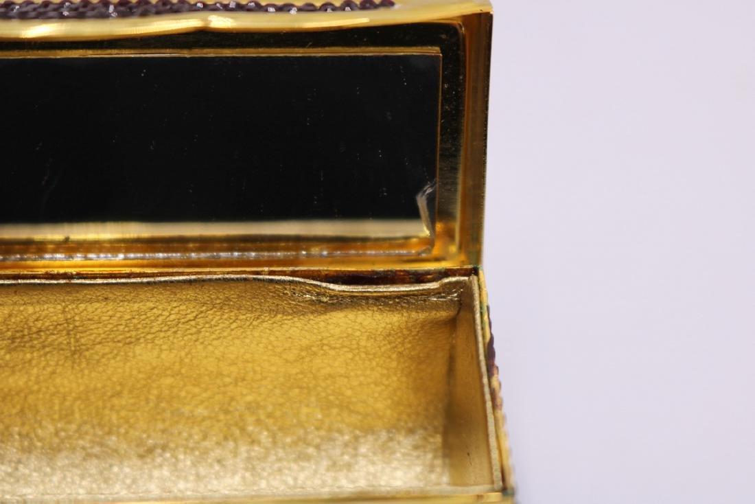 Judith Leiber Swarovski Crystal Lipstick Case - 4