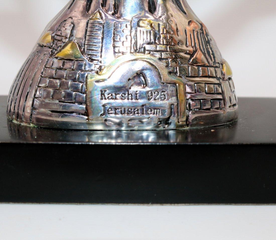 Karshi 925 Jerusalem Menorah - 2