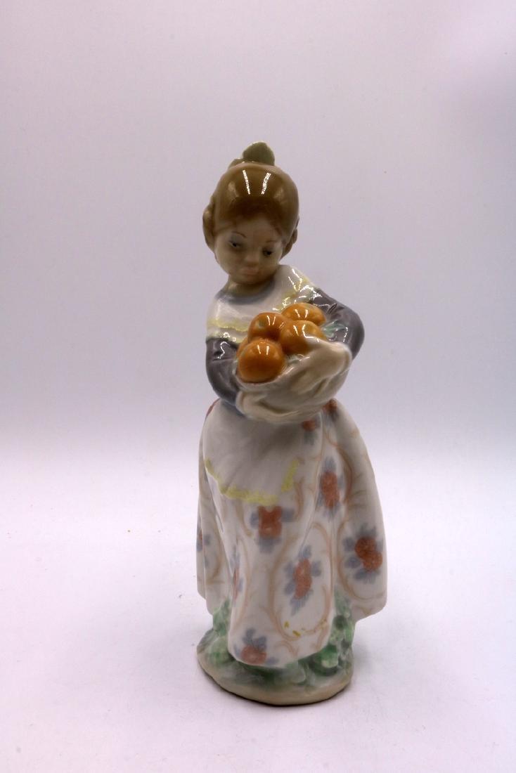 3 Pc. Lladro Porcelain Figures - 4