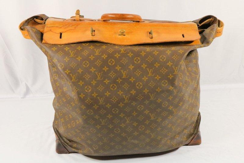 Vintage Louis Vuitton Monogram Steamer Bag