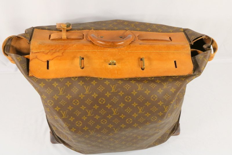 Vintage Louis Vuitton Monogram Steamer Bag - 2