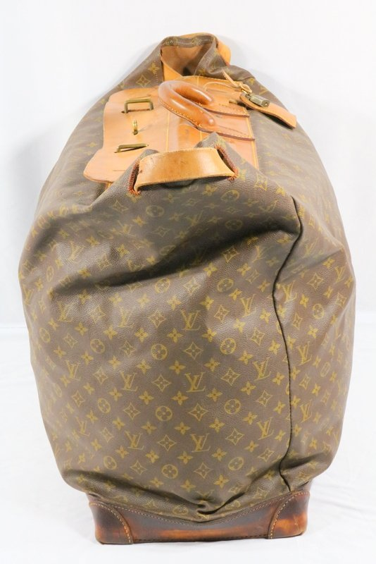 Vintage Louis Vuitton Monogram Steamer Bag - 3