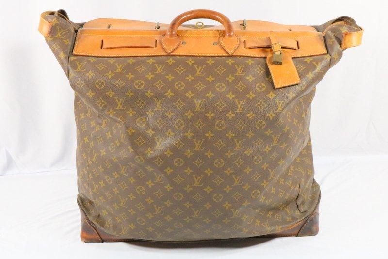 Vintage Louis Vuitton Monogram Steamer Bag - 4
