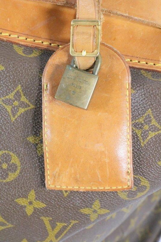 Vintage Louis Vuitton Monogram Steamer Bag - 5