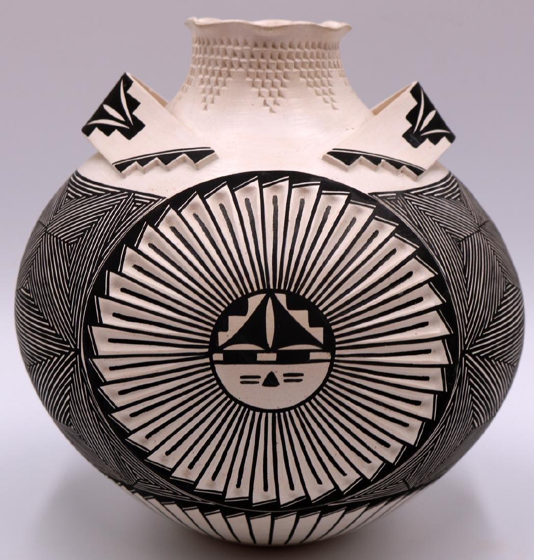 Signed S. Garcia Acoma Pottery Vase