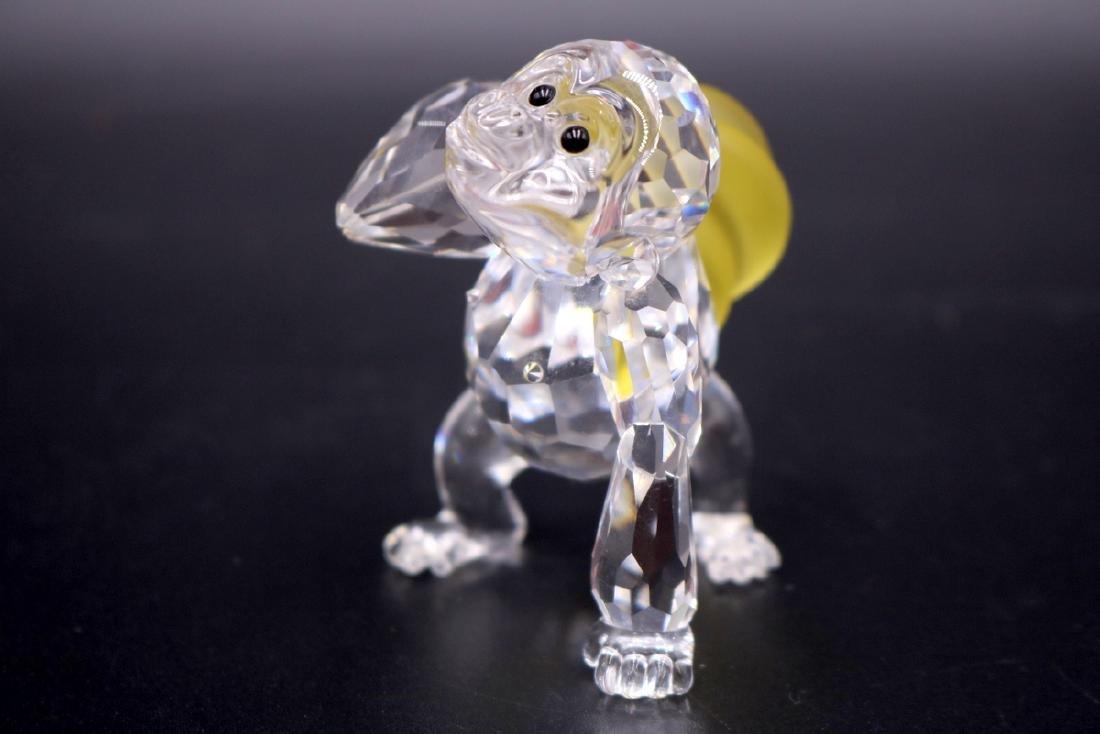 2 Pc. Swarovski Crystal Monkey & Gorilla - 2