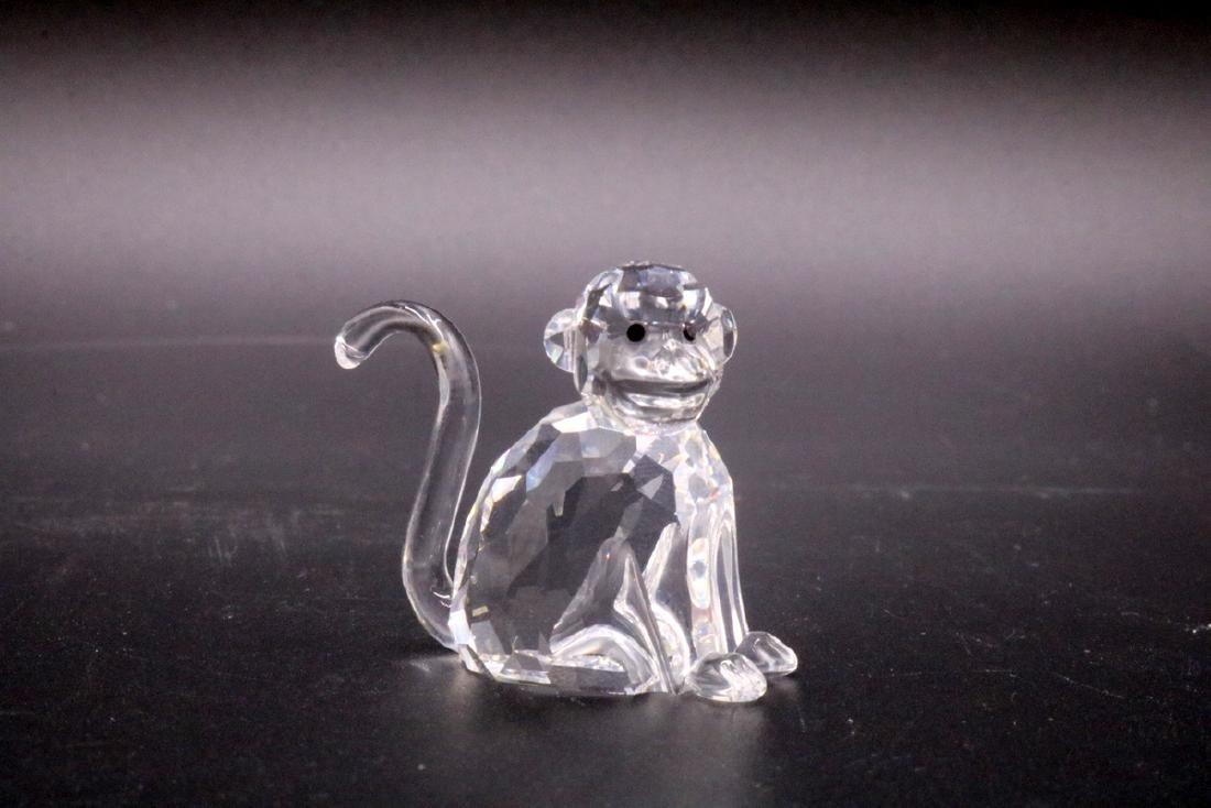2 Pc. Swarovski Crystal Monkey & Gorilla - 4