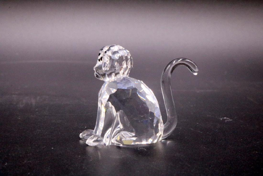 2 Pc. Swarovski Crystal Monkey & Gorilla - 5