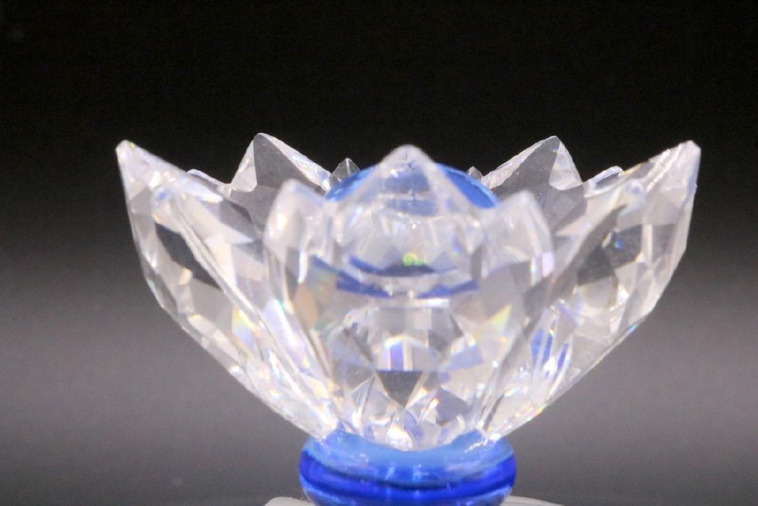 Swarovski Crystal Blue Flower Jewel Box - 2
