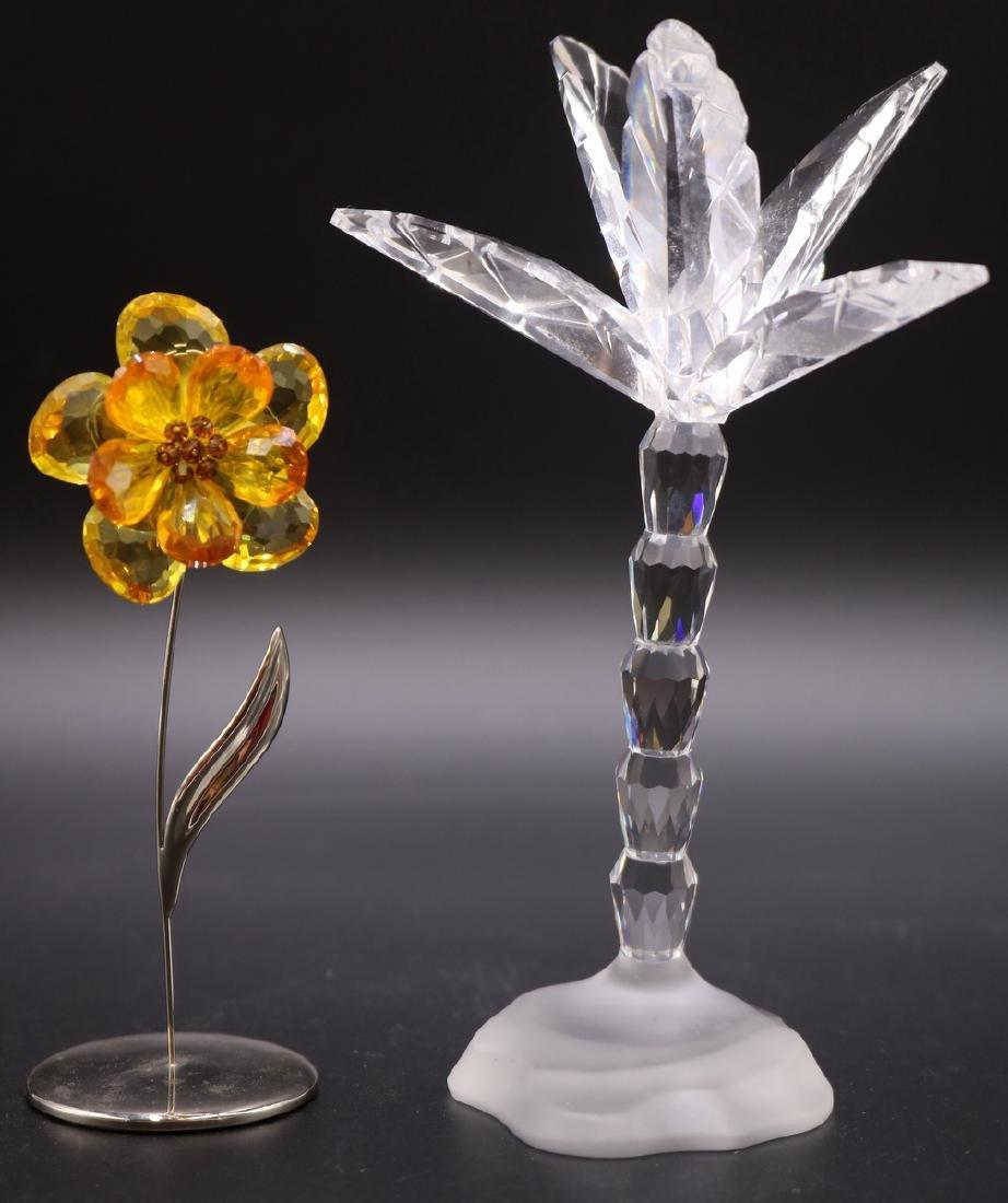 2 Pc. Swarovski Crystal Group