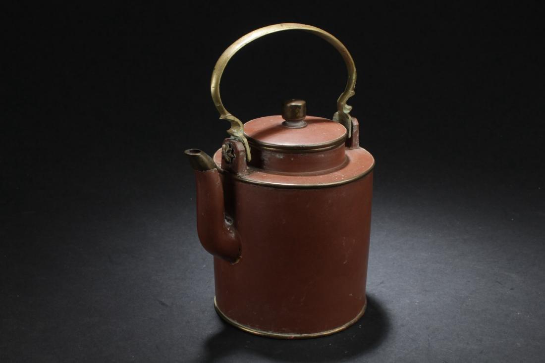Antique Chinese Zisha Teapot