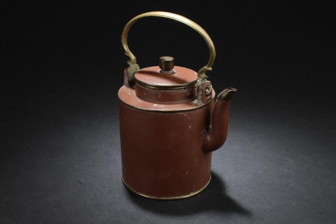 Antique Chinese Zisha Teapot - 2