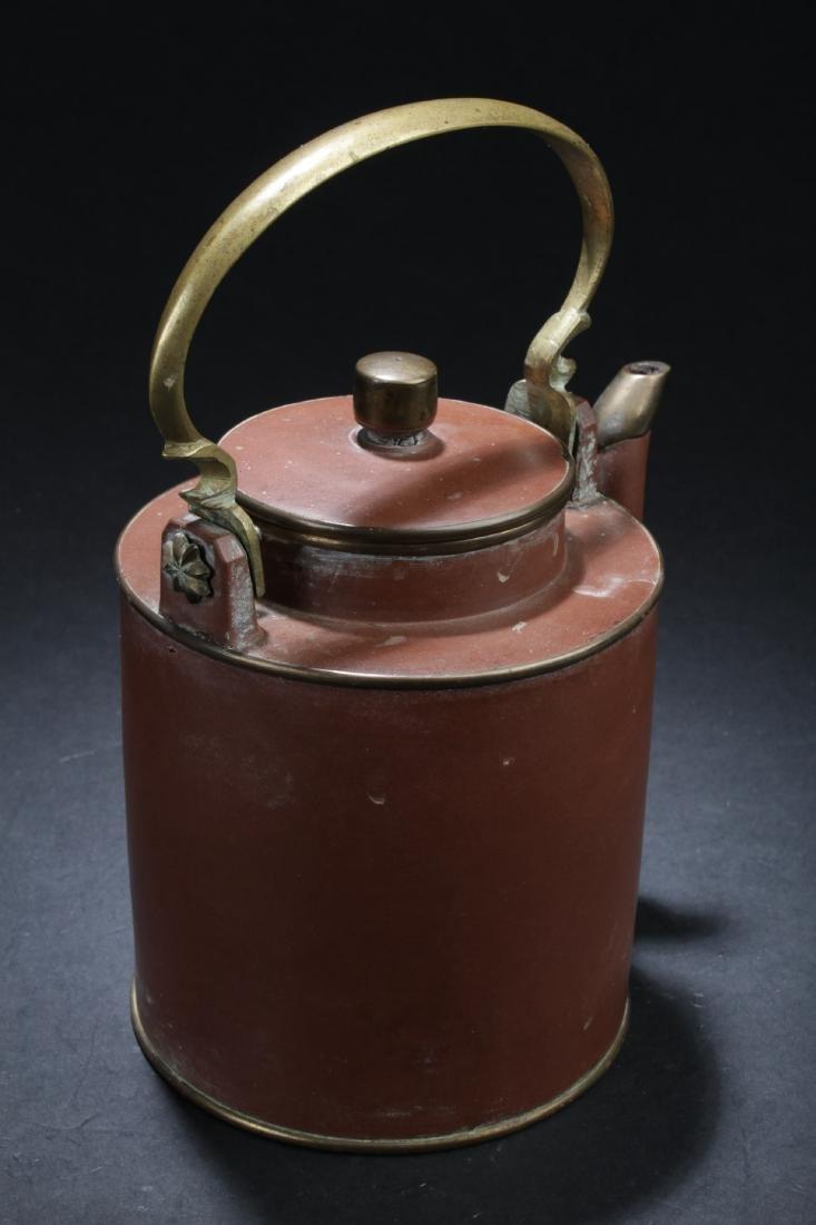 Antique Chinese Zisha Teapot - 3