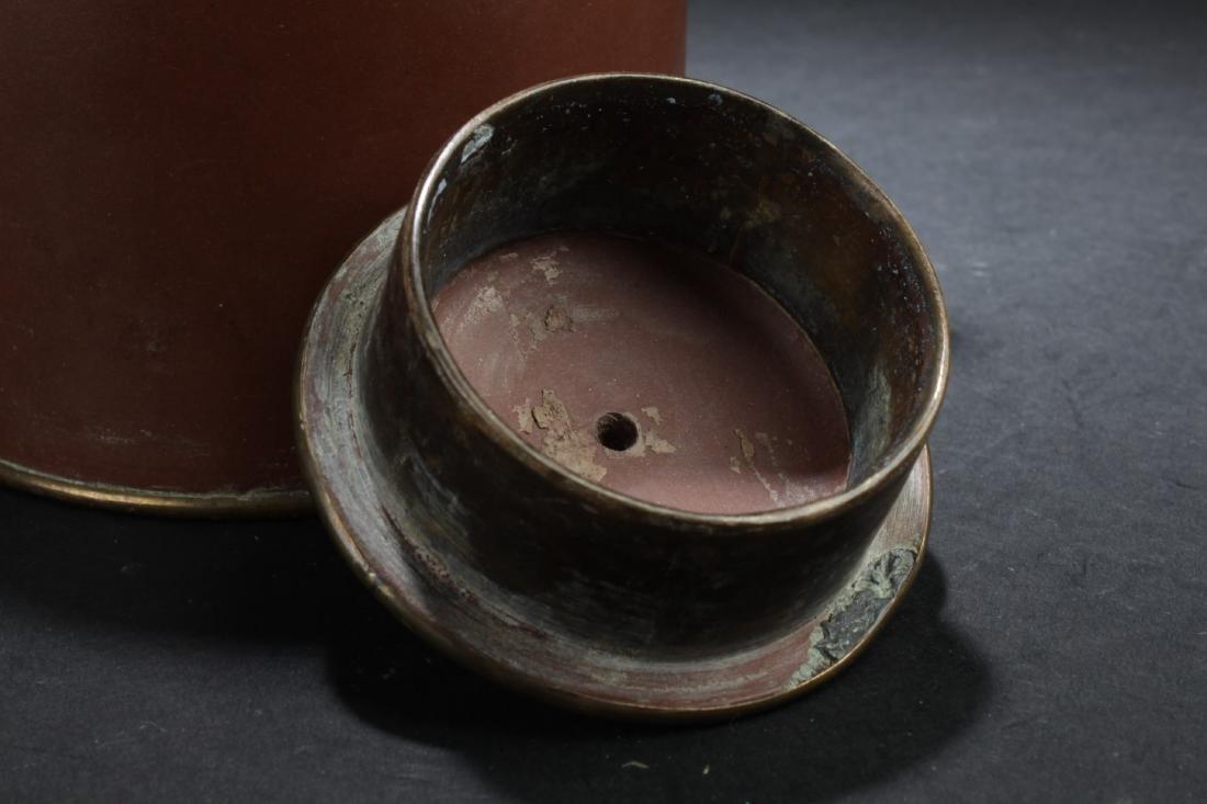 Antique Chinese Zisha Teapot - 7