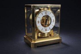 LeCoultre Perpetual Motion Mantle Clock