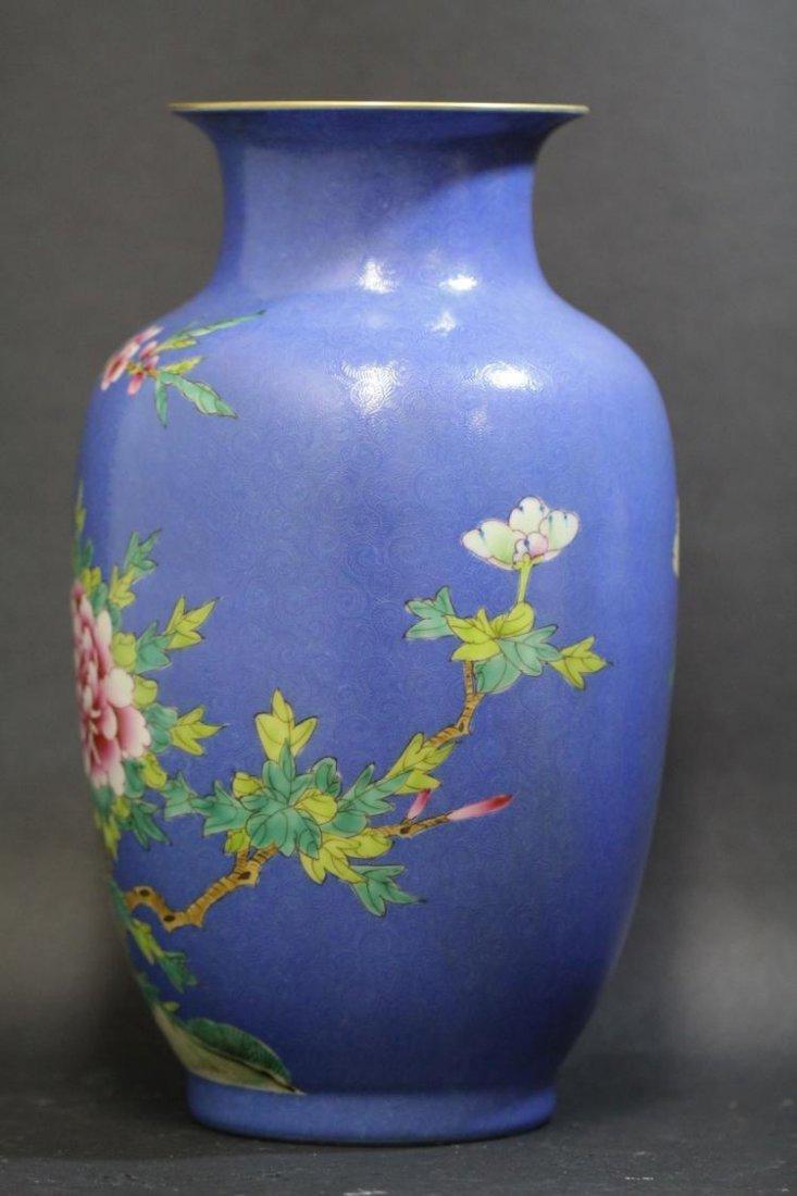 A Chinese Plum Blossom & Bird Vase - 4
