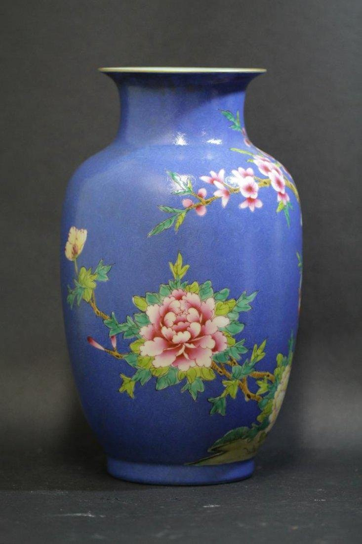 A Chinese Plum Blossom & Bird Vase - 5