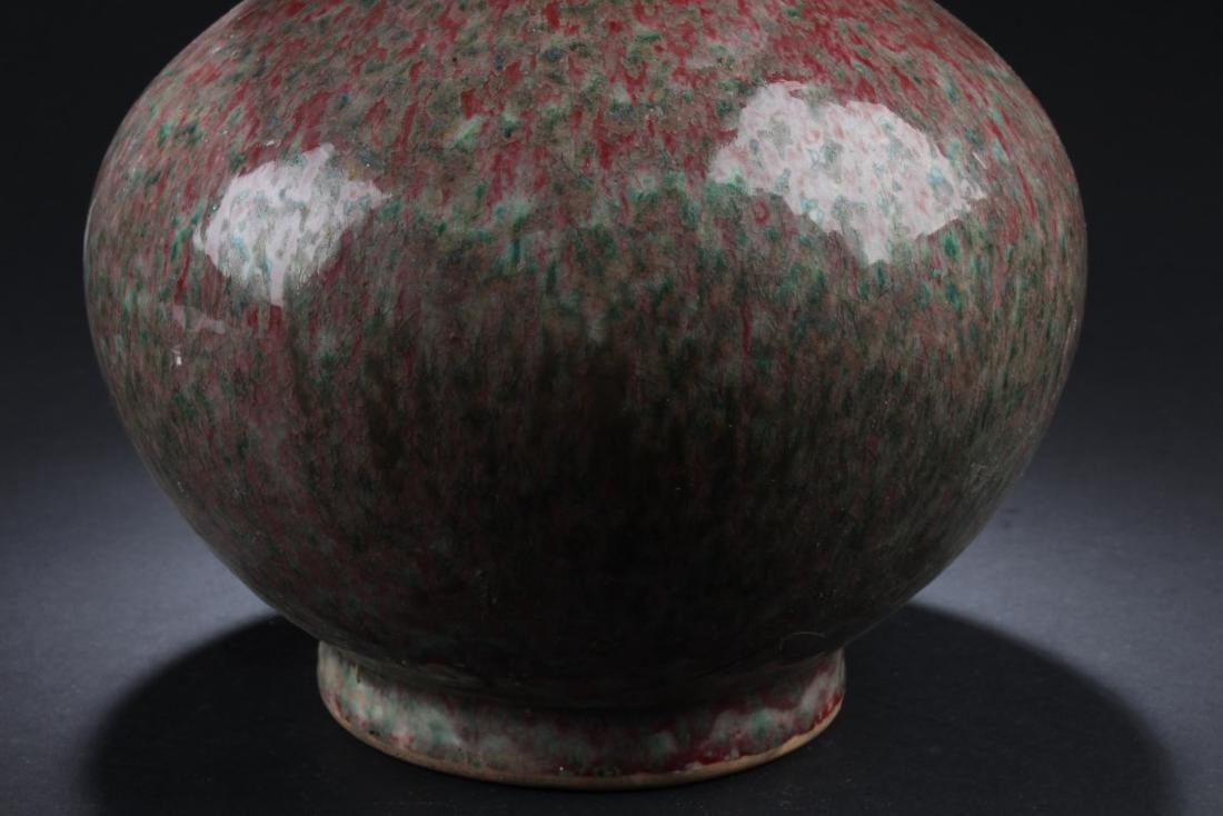 Chinese Glazed Double Gourd Vase - 3