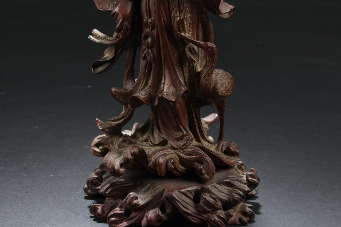 Antique Chinese Wood Carved Ornament - 3