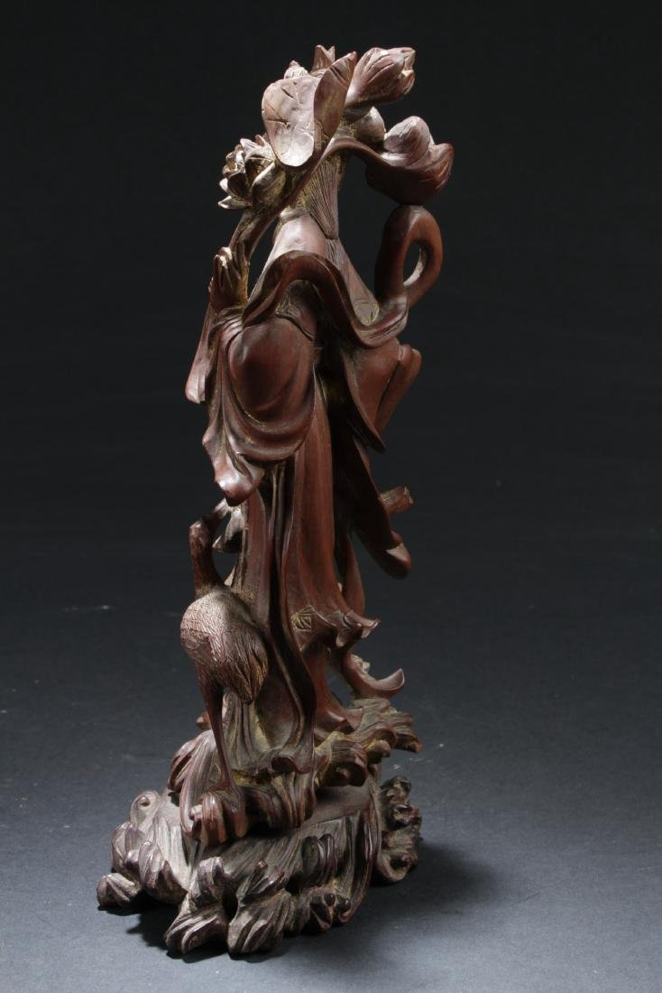 Antique Chinese Wood Carved Ornament - 6