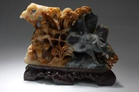 Chinese Soapstone Carved Ornament
