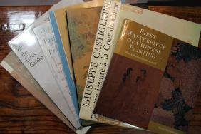 A Group of Seven Books on Chinese Painting