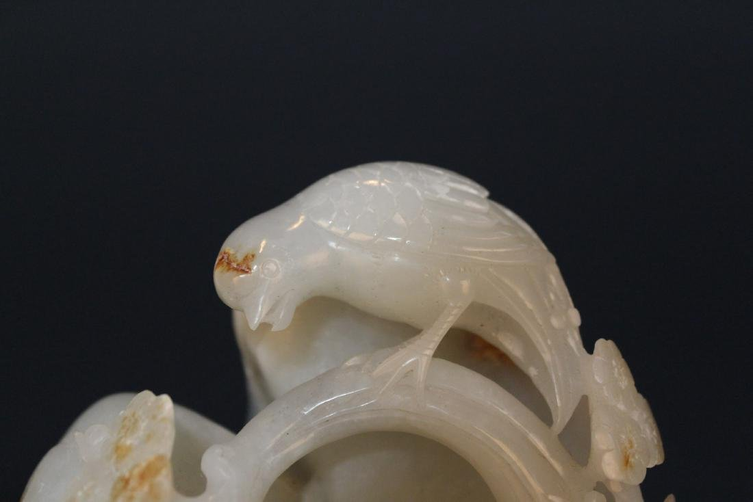Chinese White Jade Ornament - 4